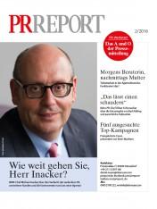 Probeheft PR Report Ausgabe 02/2016 Print