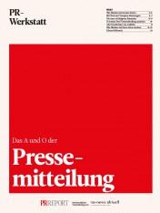 Das A und O der Pressemitteilung (Print)