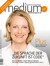 Einzelheft Medium Magazin für Journalisten Ausgabe 11/2016 (Print)