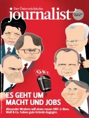 Einzelheft Der Österreichische Journalist Ausgabe 04+05/2017 (Print)