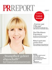 Einzelheft PR Report Ausgabe 03/2017 (Print)