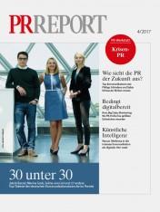 Einzelheft PR Report Ausgabe 04/2017 (Print)