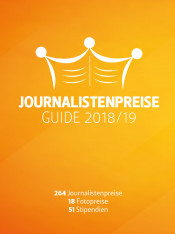 Journalistenpreise Guide 2018/2019 (Print)