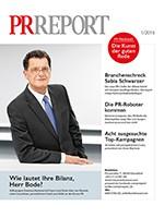 Probeheft PR Report Ausgabe 01/2016 Print