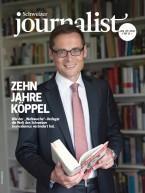 Zweijahresabo Schweizer Journalist (12 Ausgaben)
