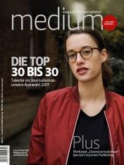 Einzelheft Medium Magazin für Journalisten Ausgabe 05/2017 (Print)