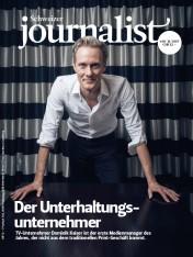 Einzelheft Schweizer Journalist Ausgabe 10+11/2017 (Print)