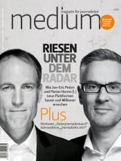 Einzelheft Medium Magazin für Journalisten Ausgabe 06/2017 (Print)