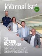 Einzelheft Schweizer Journalist Ausgabe 06+07/2018 (E-Paper)