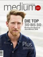 Einzelheft Medium Magazin für Journalisten Ausgabe 05/2018 (Print)