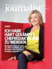Einzelheft Der Österreichische Journalist Ausgabe 08+09/2018 (Print)