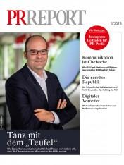 Einzelheft PR Report Ausgabe 05/2018 (Print)