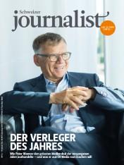 Einzelheft Schweizer Journalist Ausgabe 10+11/2018 (Print)