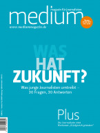 Einzelheft Medium Magazin für Journalisten Ausgabe 06/2018 (E-Paper)
