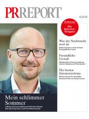 Einzelheft PR Report Ausgabe 06/2018 (Print)