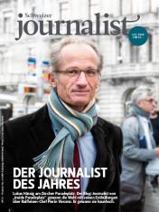 Einzelheft Schweizer Journalist Ausgabe 12/2018 (Print)