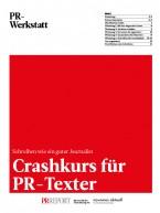 Crashkurs für PR-Texter (E-Paper)